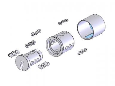 Бравите се извршуваат од 9 бројот кодирање пински, наредени во три оски во спирална систем. Кодирањето е дигитален - програма во системи Codkey или Locksys.